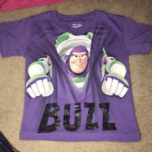 Disney Buzz Lightyear Tee New!! Size 2T and 3T